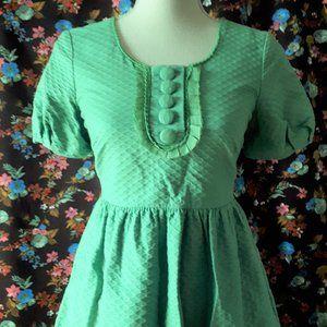 *2/$14* H & M Green Cotton Dress Size 4